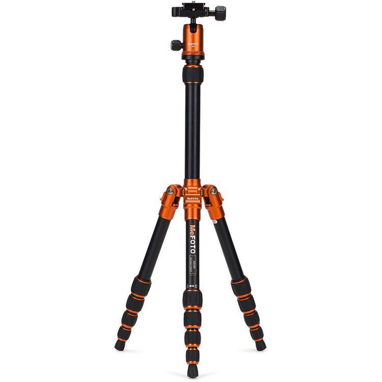 MeFOTO A0350Q0O BackPacker Travel Tripod Kit (Orange)