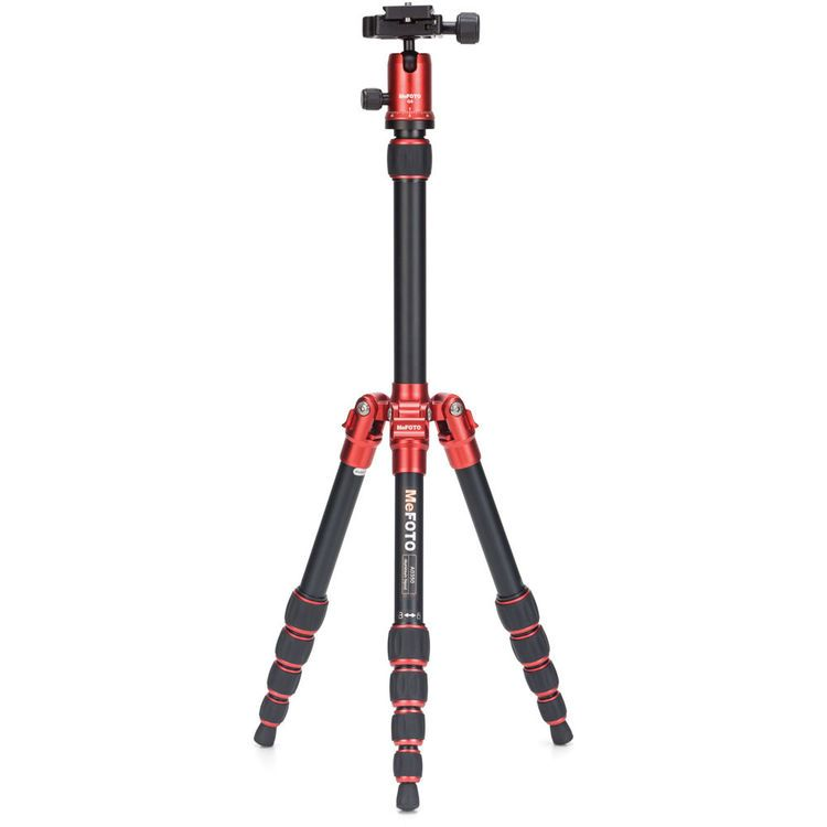 MeFOTO A0350Q0R BackPacker Travel Tripod Kit (Red)