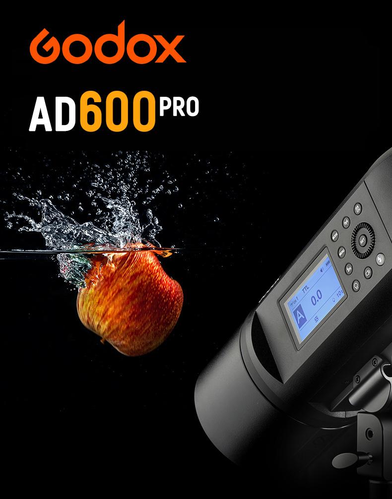 Godox Witstro AD600Pro Bataryalı Paraflaş