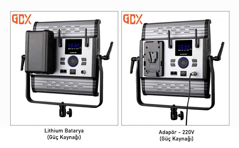 Gdx CF-Led 1024W Sürekli Panel Led Işık