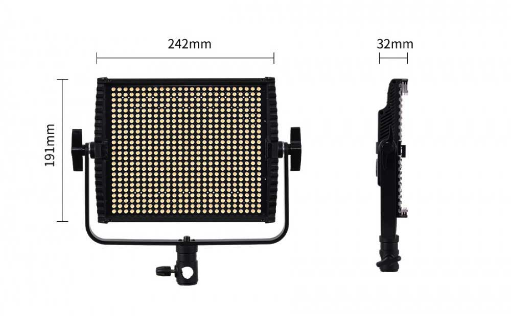 Gdx CF-Led 600C Sürekli Panel Led Işık