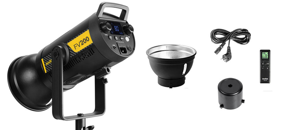 Godox FV200 Flaş / LED200W Video Işığı