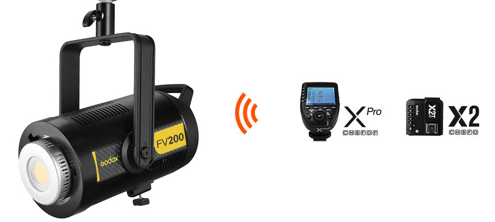 Godox FV200 Flaş / LED200W Video Işığı