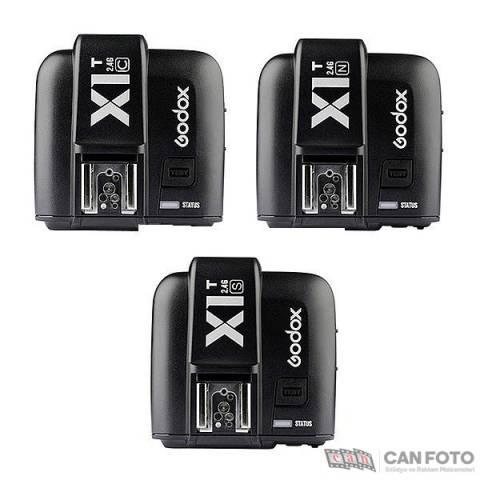 Godox X1 2+1 HSS TTL Kablosuz Flaş Tetikleyici (Nikon)