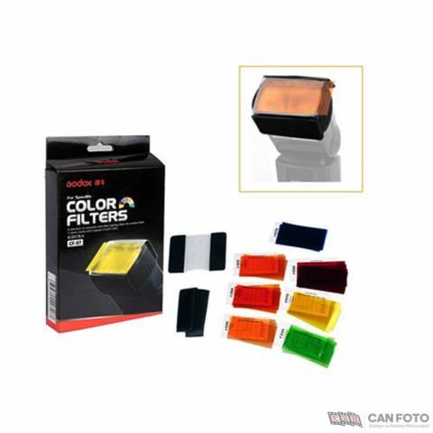 Godox CF-07 Tepe Flaşı İçin Renkli Filitre