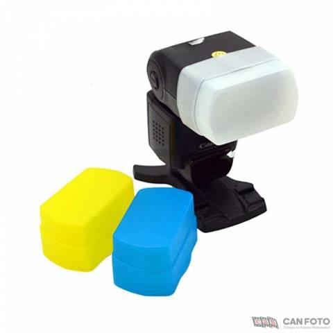 Godox Tepe Flaşı İçin Renkli Plastik Filitre