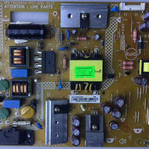 PHILIPS 40PFK4100 LED TV BESLEME KARTI / POWER SUPPLY BOARD FOR PHILIPS TV BOARD NO. 715G6934-P01-000-002E