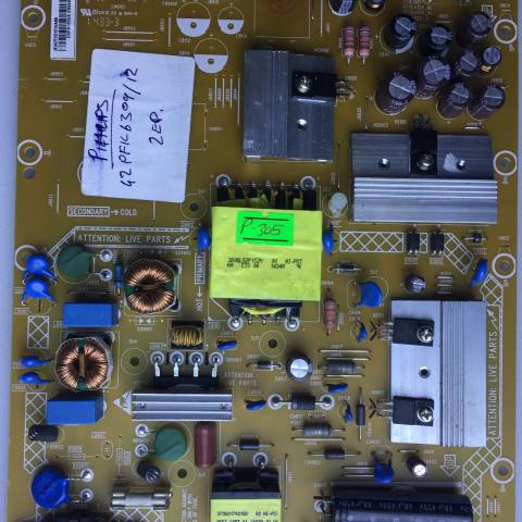PHILIPS 42PFK6309 LED TV BESLEME KARTI / POWER SUPPLY BOARD FOR PHILIPS TV BOARD NO. 715G6353-P01-000-002H