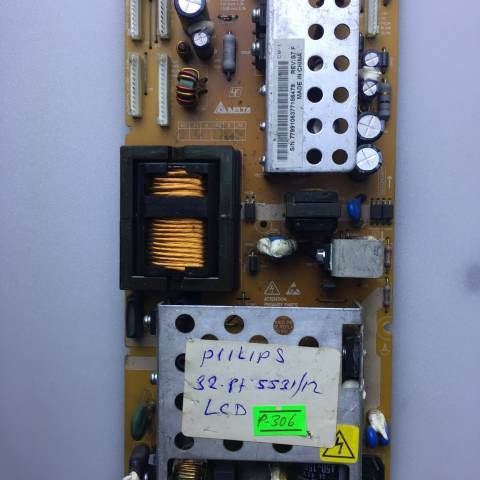 PHILIPS 32PF5531 LCD TV BESLEME KARTI / POWER SUPPLY BOARD FOR PHILIPS TV BOARD NO. DPS-188AP