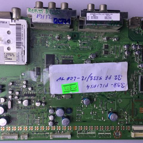 PHILIPS 32PF5331 LCD TV ANAKARTI / MAINBOARD FOR PHILIPS LCD TV BOARD NO. 3139-123-6117.3
