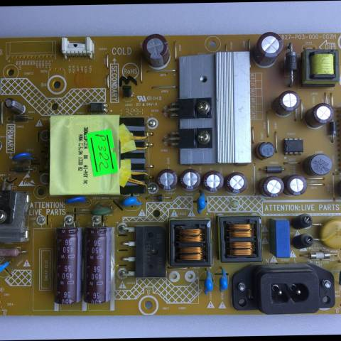 715G5827-P03-000-002H - PHILIPS 32PFL3078 LED TV BESLEME KARTI (POWER SUPPLY BOARD)