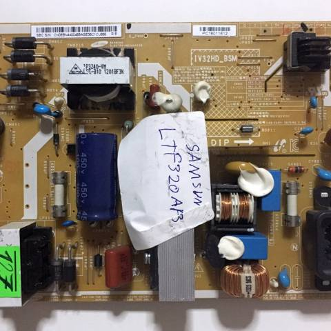 SAMSUNG LE32D403 LCD TV BESLEME KARTI / POWER SUPPLY BOARD FOR SAMSUNG TV BOARD NO. BN44-00468A ve IV32HD_BSM
