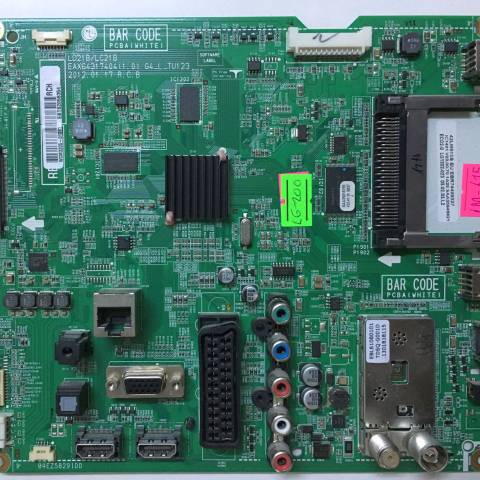 LG 42LM615S LED TV ANAKARTI / MAINBOARD FOR LG TV BOARD NO. EAX64317404 (1.0) / EBT62058354