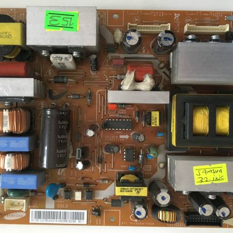 SAMSUNG LE32A300 LCD TV BESLEME KARTI / POWER SUPPLY BOARD FOR SAMSUNG TV BOARD NO. BN44-00191A VE PSLF201502B