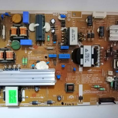 SAMSUNG UE42F5570 LED TV BESLEME KARTI / POWER SUPPLY BOARD FOR SAMSUNG TV. BOARD NO. BN44-00645A VE L42S1_DSM