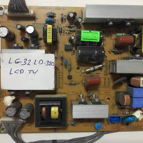LG 32LD320 LCD TV BESLEME KARTI / POWER BOARD FOR LG TV. BOARD NO. EAX55176301/12 & LGP32-09P