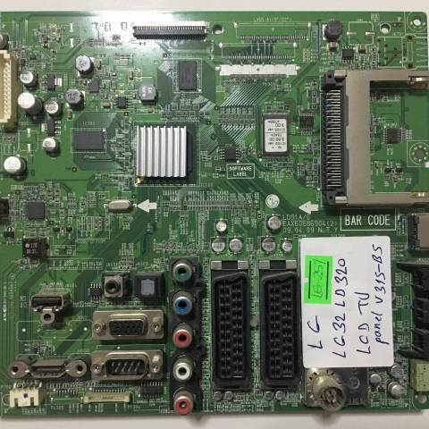 LG 32LD320 LCD TV ANAKARTI / MAINBOARD FOR LG TV. BOARD NO.EAX60686904 (2) VE EBU60856601