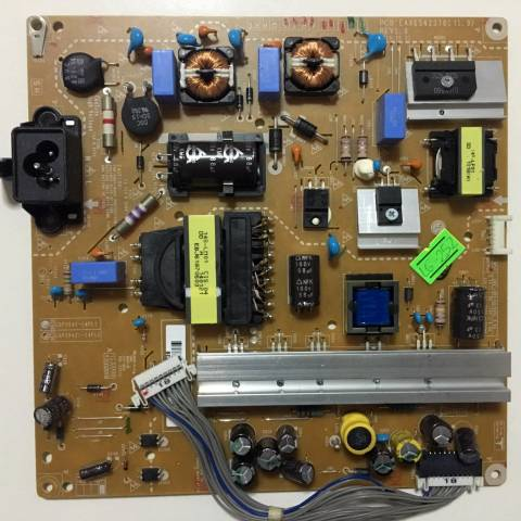 LG 42LB580V LED TV BESLEME KARTI / POWER BOARD FOR LG TV BOARD NO. EAX65423701 (1.9) / LGP3942-14PL1