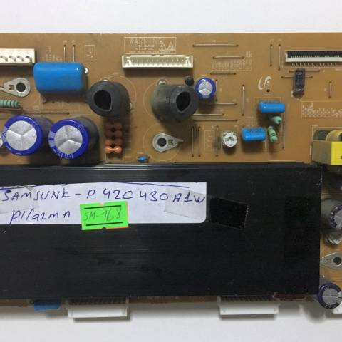 SAMSUNG PS42C430 PLAZMA TV Y-SUS KARTI / Y-SUS BOARD FOR LG PLASMA TV. BOARD NO. LJ41-08592A VE LJ92-01737A (KOD:SM-168)