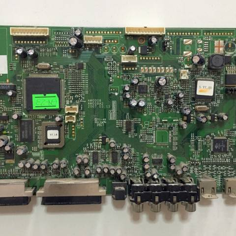 CREA VENERA 3K2 LCD TV ANAKARTI / MAINBOARD FOR CREA TV. BOARD NO. AM0008 & AM0008A2 (KOD: GN-23)