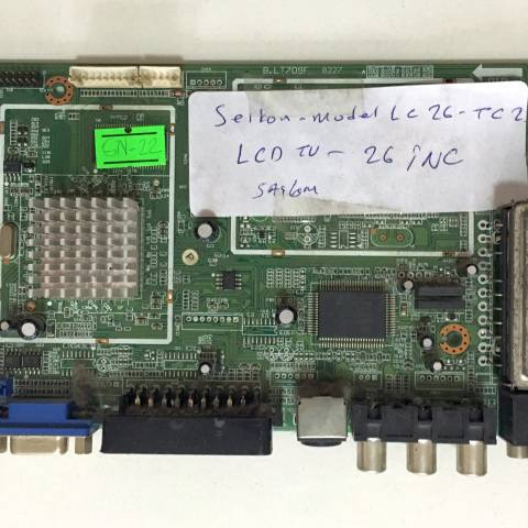 SEIKON LC26LTC23 LCD TV ANAKARTI / MAINBOARD FOR SEIKON TV. BOARD NO. B.LT709F & 8227