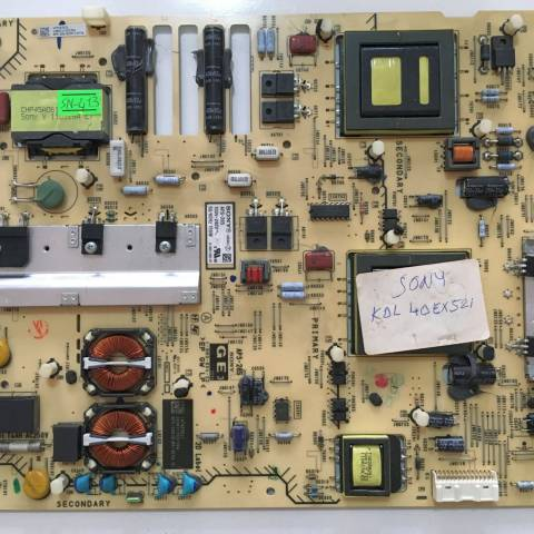 SONY KDL-40EX521 LED TV BESLEME KARTI / POWER BOARD FOR SONY TV. BOARD NO. 1-883-804-22 & APS-285