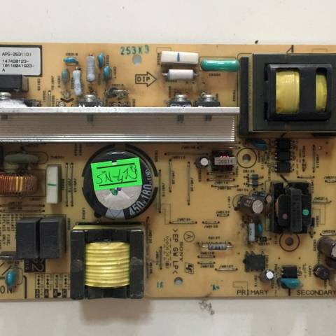 SONY KDL-40BX400 LCD TV BESLEME KARTI / POWER BOARD FOR SONY TV. BOARD NO.S APS-254, 1-881-411-22 (KOD:SN-419)