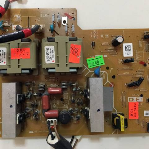 SONY KDL-40D3500 LCD TV BESLEME KARTI / POWER BOARD FOR SONY TV. BOARD NO.S 1-873-815-12, A-1256-156-B, A1436084A
