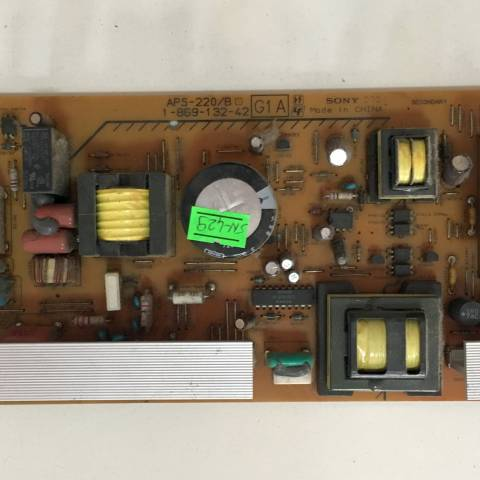 SONY KDL-32S2510 LCD TV BESLEME KARTI / POWER BOARD FOR SONY TV. BOARD NO.S APS-220/B, 1-869-132-42, 1-468-980-21