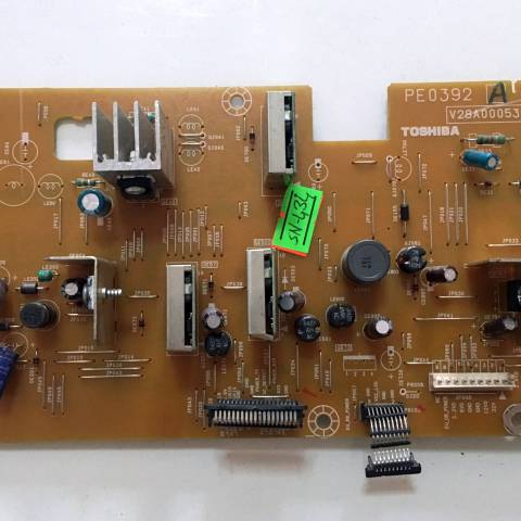 TOSHIBA 32C3035D LCD TV BESLEME KARTI / POWER BOARD FOR TOSHIBA TV. BOARD NO.S PE0392 A & V28A000532A1