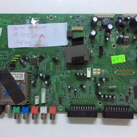 VESTEL MILLENIUM 32750 LCD TV ANAKARTI / MAINBOARD FOR VESTEL TV. BOARD NO.S 17MB22-2, 021106, 10049582, 20303844