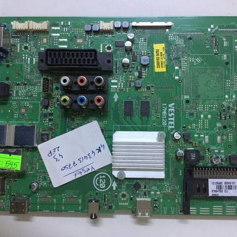 VESTEL 43UB7750 SMART LED TV ANAKARTI / MAINBOARD FOR VESTEL TV. BOARD NO.S 17MB120, 10105980, 23369151, 23369152, 27684752, DIJ