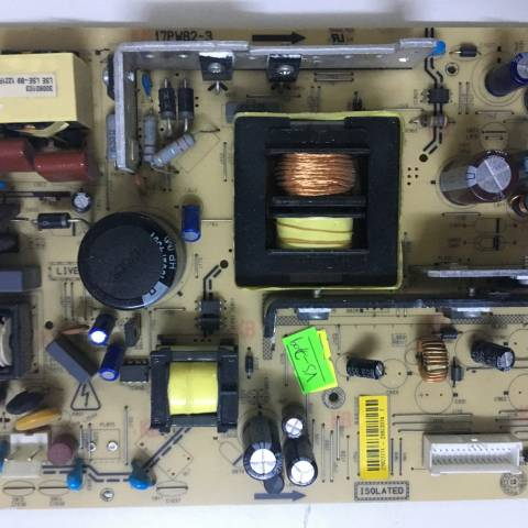 VESTEL LCD TV BESLEME KARTI / POWER BOARD FOR VESTEL TV, BOARD NO.S  17PW82-3, 151111, 23027771, 26923374
