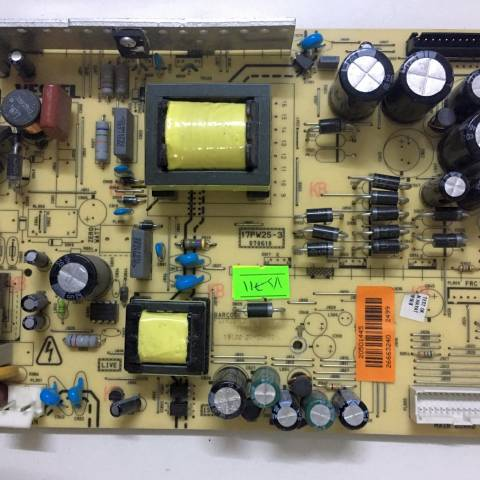 VESTEL 32 INCH LCD TV BESLEME KARTI / POWER BOARD FOR VESTEL TV, BOARD NO.S  17PW25-3, 070610, 20501445, 26663240 (SKU: VS-711)