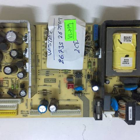 VESTEL MILLENIUM 26735 LCD TV BESLEME KARTI / POWER BOARD FOR VESTEL TV, BOARD NO.S  17PW22-4, 190608, 20351842, 30052104