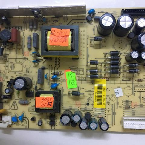 VESTEL 26VH5906 LCD TV BESLEME KARTI / POWER BOARD FOR VESTEL TV, BOARD NO.S  17PW25-3, 070610, 20501445, 26709343