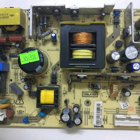 VESTEL LCD TV BESLEME KARTI / POWER BOARD FOR VESTEL TV, BOARD NO.S  17PW26-5, 20487733, 30060103