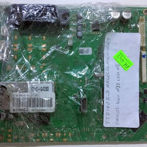 ARÇELİK A32-LCH-0B LCD TV ANAKARTI / MAINBOARD FOR ARCELIK & BEKO TV. BOARD NO.S YTD190R-7, BSBHZZ, V-0, PCB2_, TE 32W SS34 MLT