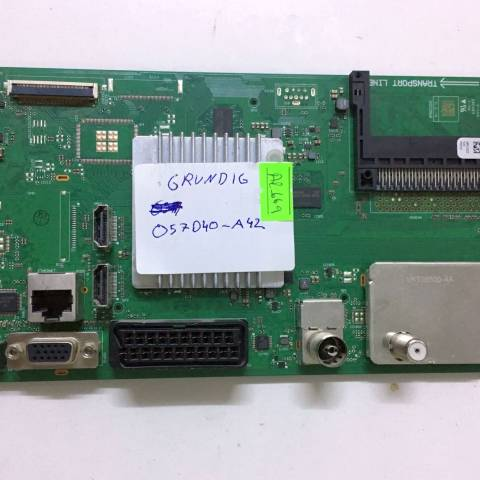 GRUNDIG G40L 6532 4B LED TV ANAKARTI / MAINBOARD FOR GRUNDIG & BEKO TV. BOARD NO.S VKT190R-4, MPU9ZZ, VKT30500-AA, V-0