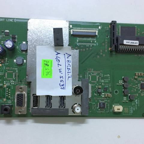 ARÇELİK A40 LW 5533 LED TV ANAKARTI / MAINBOARD FOR ARCELIK & BEKO TV. BOARD NO.S VTY190R-6, GRUNDIG, V-0, K3DAZZ