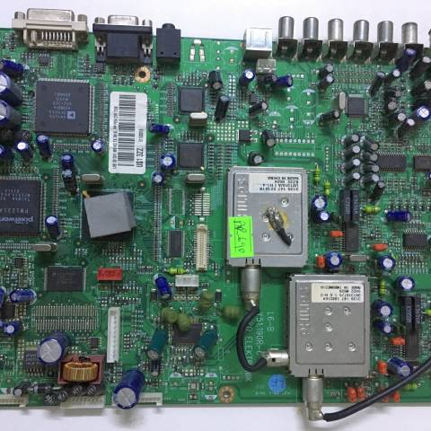 TOSHIBA 30WL46G LCD TV ANAKARTI / MAINBOARD FOR TOSHIBA TV (PRODUCER: BEKO). BOARD NO.S Y51.190R-6, US1 3ZZ, LB6 30 CH1 M8 NC TX, US13ZZ