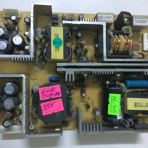 ARÇELİK BEKO 32 INCH LCD TV BESLEME KARTI / POWER SUPPLY BOARD FOR ARCELIK-BEKO TV BOARD NO. 0223B, CEM-1, 0223B2421ELF