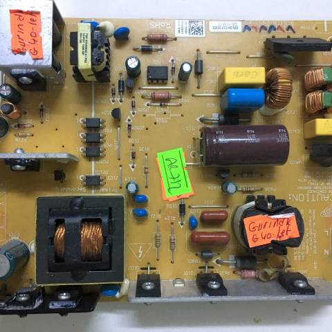 GRUNDIG G40-LB-5333 FULL HD LED TV BESLEME KARTI / POWER SUPPLY BOARD FOR GRUNDIG-BEKO TV BOARD NO. FSP115-3F02, 3BS0362010GP, ZGC910R