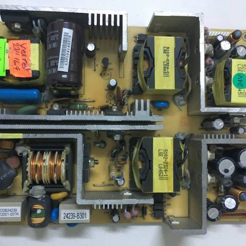 VESTEL 27 INCH LCD TV BESLEME KARTI (PRODUCER: BEKO ELEKTRONIK) / POWER SUPPLY BOARD FOR ARCELIK-BEKO TV BOARD NO. 0223B, 0223B24239, 24239-B301
