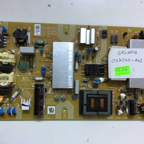 GRUNDIG G40L 6532 4B FULL HD (FHD) LED TV BESLEME KARTI / POWER SUPPLY BOARD FOR ARCELIK-BEKO TV BOARD NO.S DPS-120AP-2, 2950338303, ZJN910R, 106AP1A