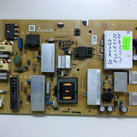 ARÇELİK A40 LB 5533 LED TV BESLEME KARTI / POWER SUPPLY BOARD FOR ARCELIK-BEKO TV BOARD NO.S DPS-136BP, DPS-126EP A, 2950339904, ZKK910R, 126EPA