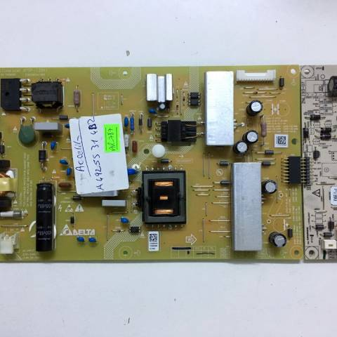 ARÇELİK A49L 5531 4B2 FULL HD LED TV BESLEME KARTI / POWER SUPPLY BOARD FOR ARCELIK-BEKO TV BOARD NO.S APDP-123A1, 2955034102, ZQR910R, APDP123A1A, ZNL193-07, ZPS120