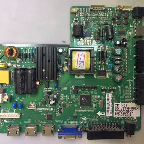 PREMIER PR 32B30 HD READY LED TV ANA KARTI / MAINBOARD FOR PREMIER TV. BOARD NO.S TP.VST59.P86, CP11401, BD_VST59_P86X, M320X13-E1-L, D LED