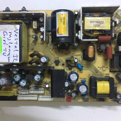 VESTEL MILLENIUM 32750 TFT-LCD TV BESLEME KARTI / POWER BOARD FOR VESTEL TV, BOARD NO.S  17PW20, V1, 010507 (SKU: VS-703)