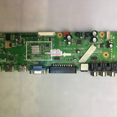 AXEN AX032LM23-T2M HD READY LCD TV ANA KARTI / MAINBOARD FOR SUNNY-AXEN TV BOARD NO.S T.MT8223.3B, T.MT8223.3B 10285, MT8223, 10285